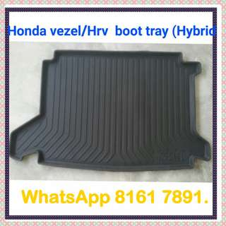 Honda vezel/Hrv boot tray ( New)