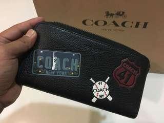 Coach 41 New York Accorion Wallet
