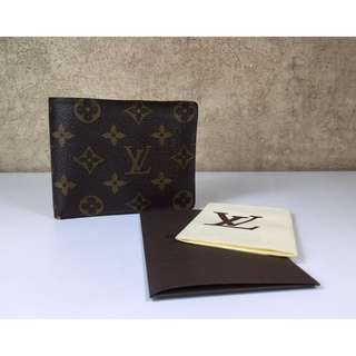 LOUIS VUITTON M60026 MONOGRAM PORTEFEUILLE FLORIN WALLET