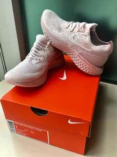 (女EUR38 = 女US7) Nike Woman Epic React 粉紅色 Pink 24cm Flyknit (Ultra Boost Yeezy 350 V2 500)