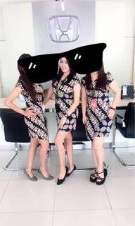 Batik A simetris