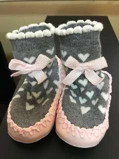 H&M baby anti slip shoe socks US 1-2