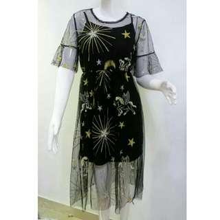 Pegasus sheer dress