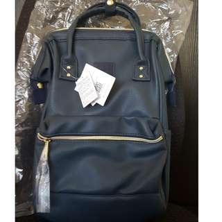 Authentic Anello Bag - Mini Rucksack (Blue)