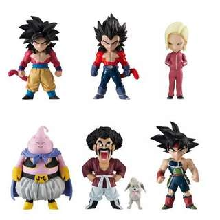 DRAGONBALL ADVERGE 07 FULL SET