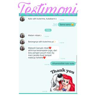 Testimoni Secondhand stuff