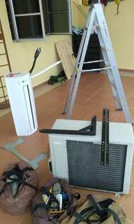 Aircond eletrical servis whatsapp  call 0133395787