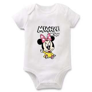 Tsum Tsum Disney Minnie Mouse Baby Romper