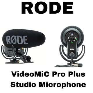 Rode VideoMic Pro Plus Shotgun Microphone