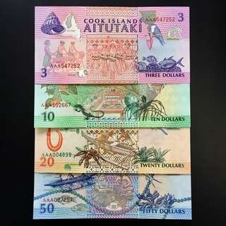 Cook Island set