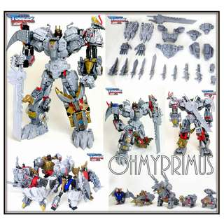 ransform Dream Wave DW TDW TCW-06 - Upgrade Kit For Transformers Takara / Hasbro POTP Power of the Primes Volcanicus Dinobot Combiner