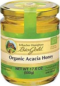 Organic Acacia Honey 17.6 oz
