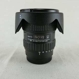Tokina AT-X 11-16 PRO DX AF 11-16mm F2.8 廣角鏡頭 For SONY