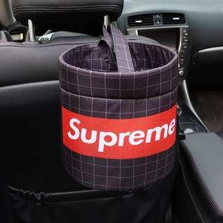 [Supreme] Car Trash-bin / Holder