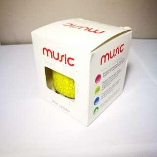 🆕 Music Mini Speaker (Yellow)