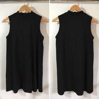 Boology (Hong Kong brand) High neck little black dress