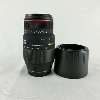 SIGMA APO 70-300mm f4-5.6 DG MACRO 微距變焦鏡頭 For Sony A接環