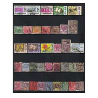Malaya Old States Lots BL599