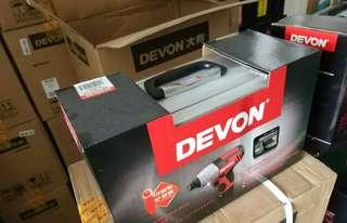 Devon(全新)12v衝擊批 100n.m 兩鋰電池鋁工具箱