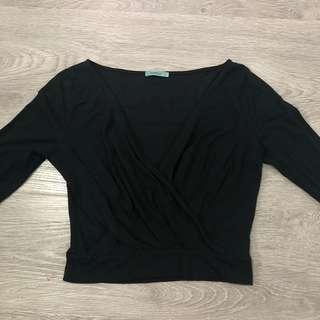 KOOKAI Black Long Sleeve