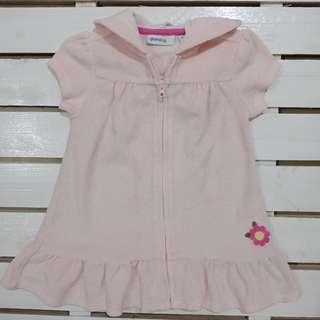 Light pink dress with hood
