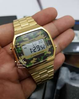 Original Casio A168WEGC-3DF