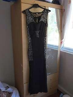 Lace sexy dress