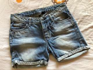 Preloved Mango Denim Shorts