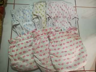 Cloth diaper without inserts take all
