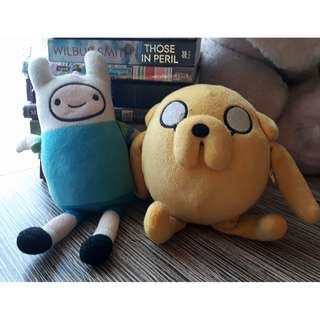 Finn and Jake Adventure Time Stuffed toys