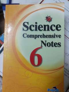 P6 science Comprehensive notes
