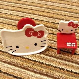 Hello Kitty袖珍桌椅 擺飾