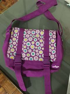 Smiggles Purple Sling Bag For Girls / Kids