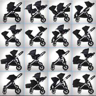 Baby jogger city select Single/double stroller/twin pram