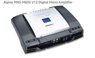 Alpine MRD-M605 mono amplifier 🔊