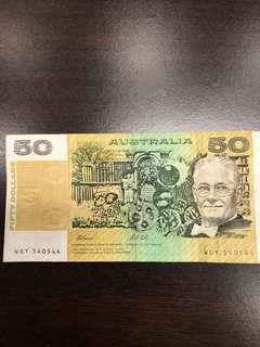 Old Australia notes