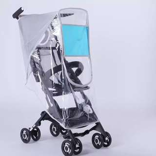 ⭐️Ready Stocks-Rain Cover for GB Pockit/bicycle Stroller