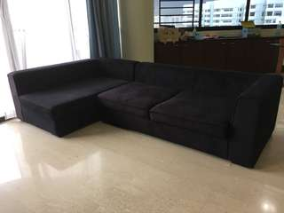 3 seater L sofa for sale