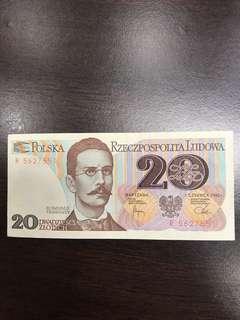 Polska note