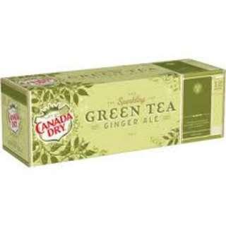 CANDY DRY 美國進口綠茶風味汽水(355ML/12入)