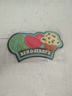 Ben and jerry limited edition paper