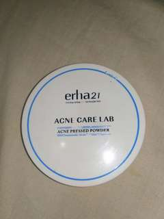 Erha21 acne care lab / acne pressed powder