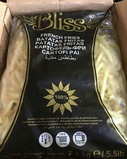 2.5 kg Fries for Sale