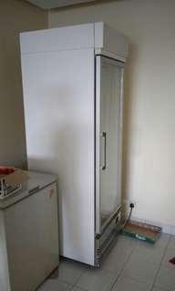 5 tier used commercial display chiller 1 door