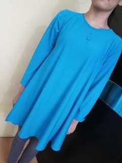 Baju jersey biru