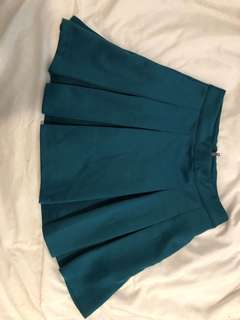 F21 Green Tennis Skirt (Size S)