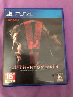 Selling ps4 metal gear solid v for $25 or trade with other ps4 game.