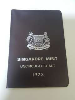 1973 SINGAPORE MINT UNC SET, PRESTINE CONDITION