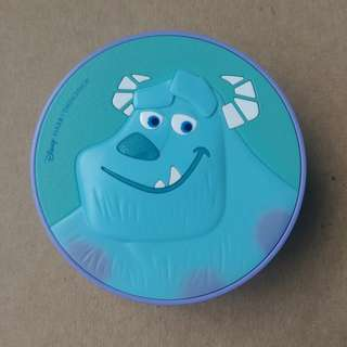 The face shop long lasting cc cushion v201 apricot beige case monster inc disney limited edition sully