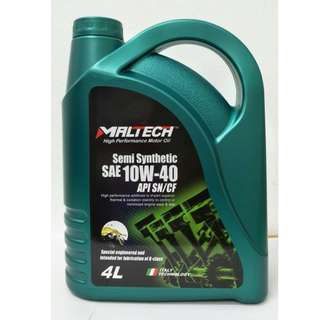 Maltech Performance Semi Synthetic Engine Oil 10W-40 (4 Litre)